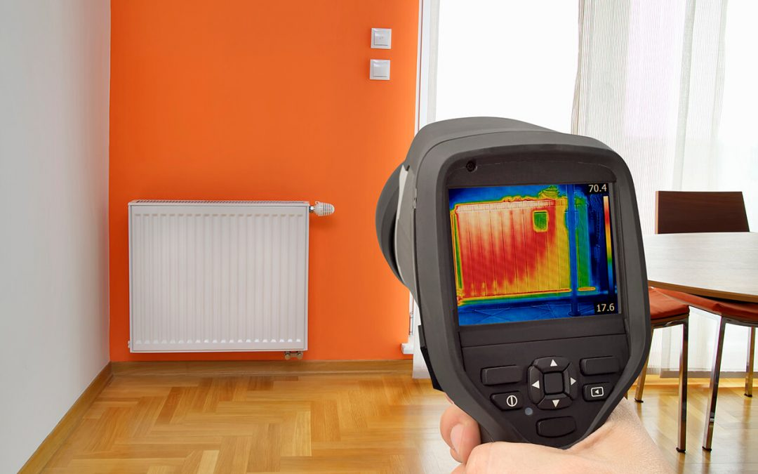 home inspection with infrared thermal imaging