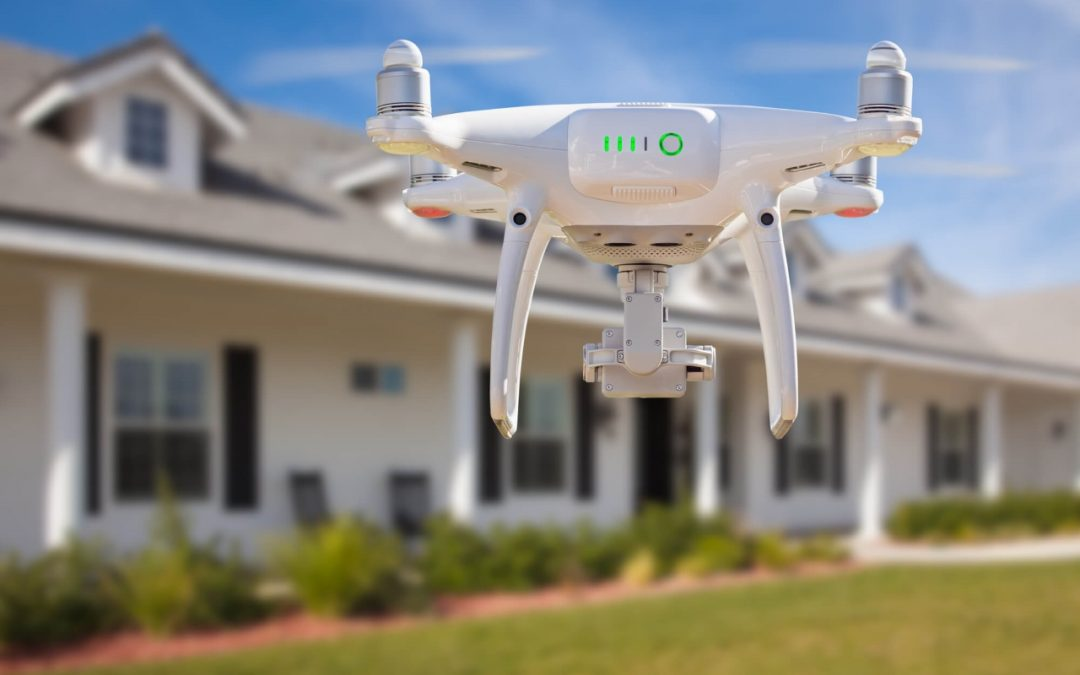 using aerial drones during roof inspections